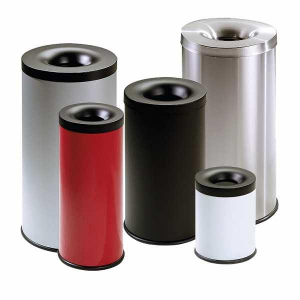 Abfallbehälter TKG FIRE EX Italy Style selbstlöschend