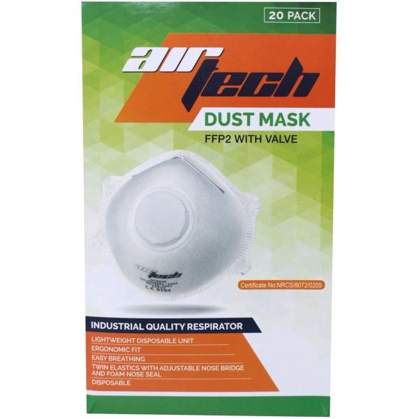 Atemschutzmaske FFP2 AirTech mit Ausatemventil