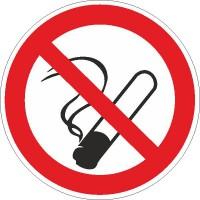 Verbotszeichen Rauchen verboten nach BGV A8 (P01)