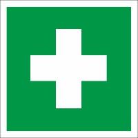 Rettungszeichen Erste Hilfe  nach BGV A8 (E03)