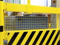 Durchgriff-Schutzgitter für Sicherheitsgeländer Stahl