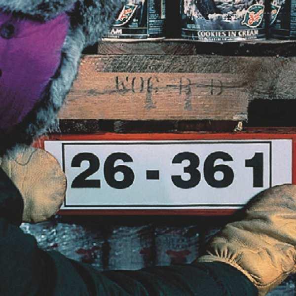 Brady Polyester Klebeband B-549 für kalte Temperaturen für BBP3x Drucker