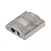 Aluminiumplomben Form 64 (100 Stk.) 10x10 mm