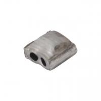Aluminiumplomben Form 62 (100 Skt.) 8,5x8,5 mm