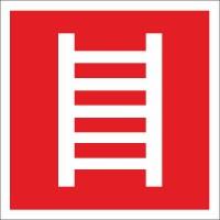 Brandschutzzeichen Leiter nach BGV A8 (F04)