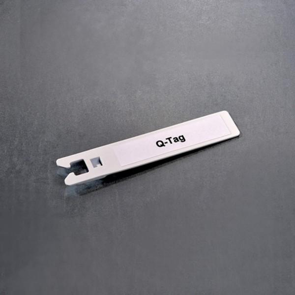 Q-tag Kennzeichnungsschild 100 mm x 18 mm