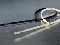 Kabelbinder Q-tie schwarz - UV-beständig (100 Stück)