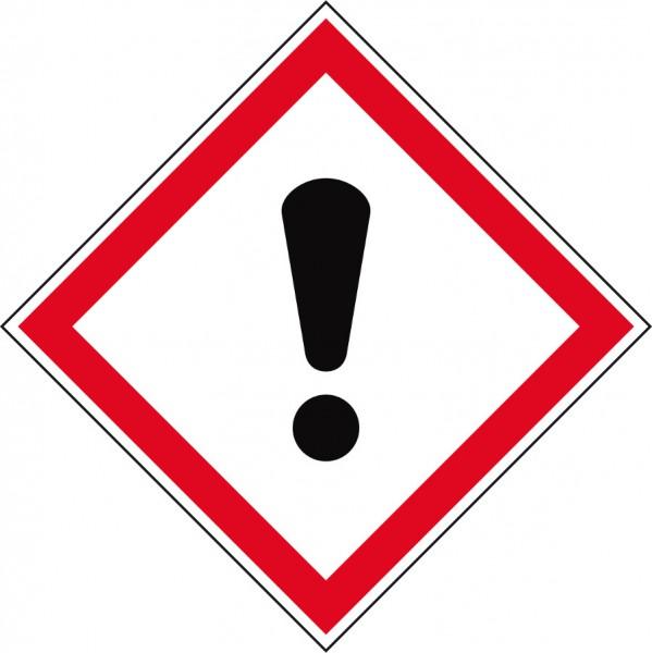 Gefahrensymbol Ausrufezeichen GHS07