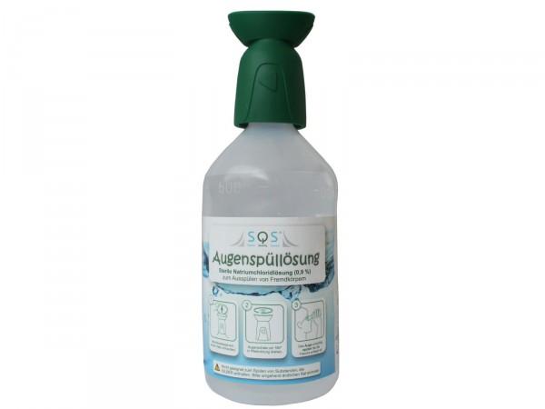 SQS Augenspülflasche NaCl 0,9 %, 500ml