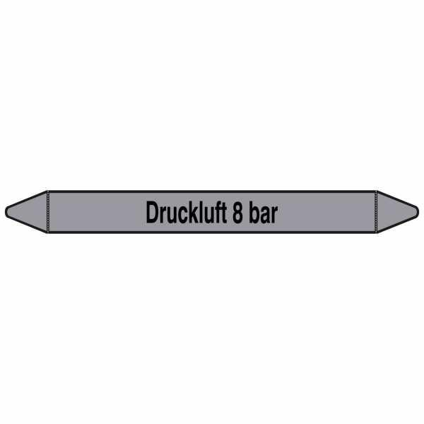 Brady Rohrmarkierer mit Text Druckluft 8 bar