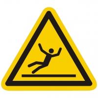 Warnzeichen Warnung vor Rutschgefahr nach ISO 7010 (W011)