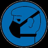 Gebotszeichen Leichten Atemschutz benutzen