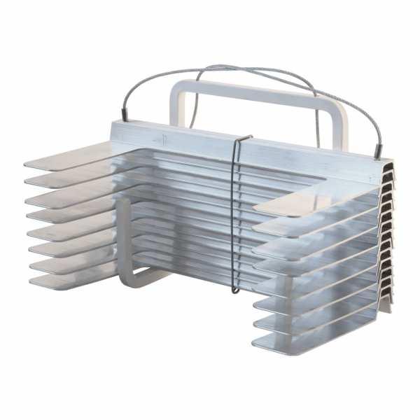 Rettungsleiter Kletter-Fix Kompakt-A5, 5 m (mit Abstandshalter)