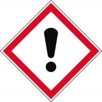 GHS-Gefahrstoffetiketten Reizend - GHS07