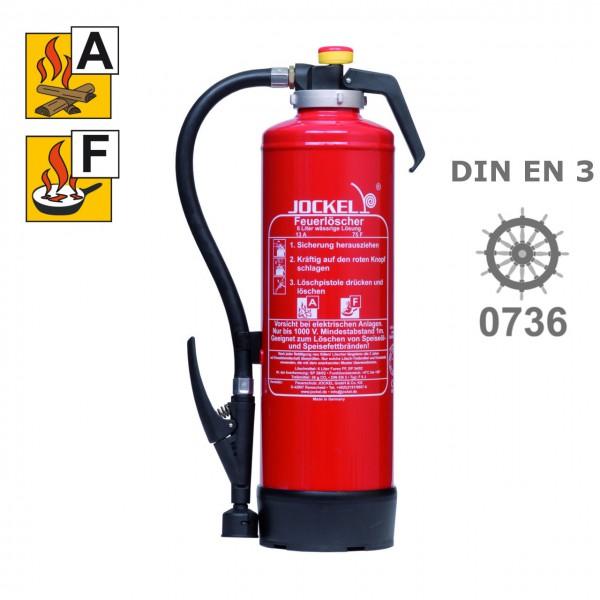 Jockel F 6 J 21 Fettbrandlöscher 6 Liter