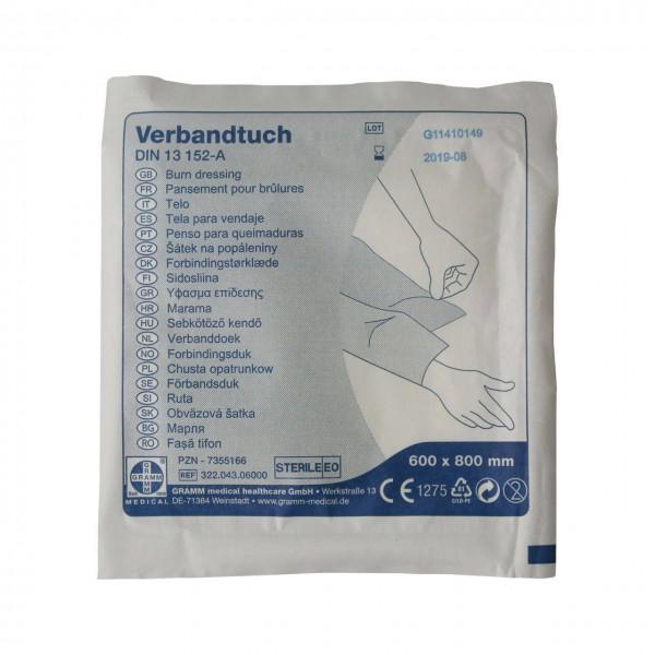Verbandtuch DIN 13152-A 60x80 cm