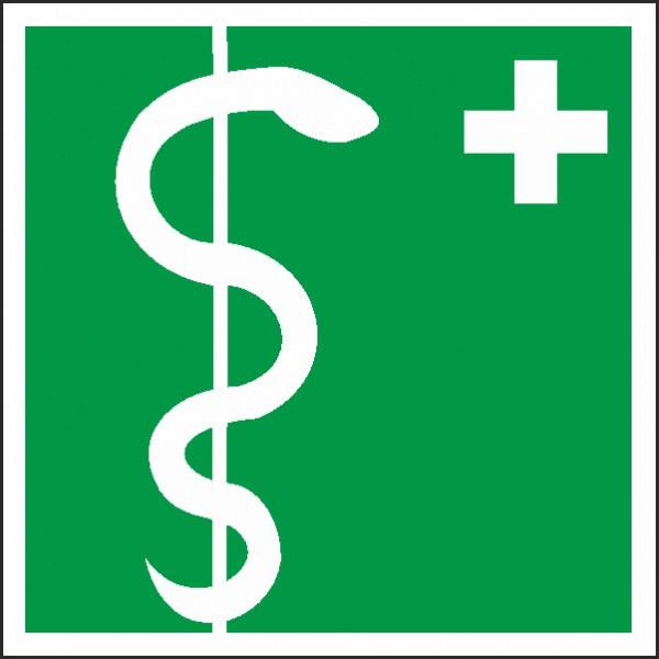 Rettungszeichen Arzt nach BGV A8 (E08)