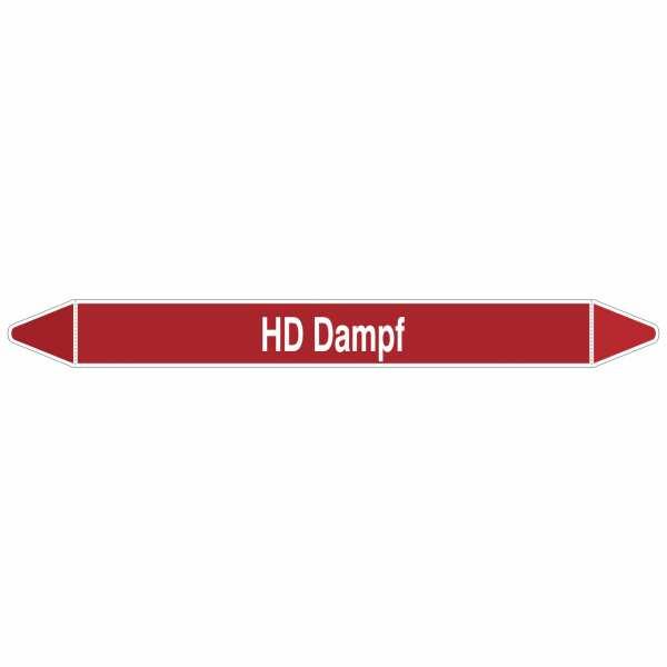 Brady Rohrmarkierer mit Text HD Dampf