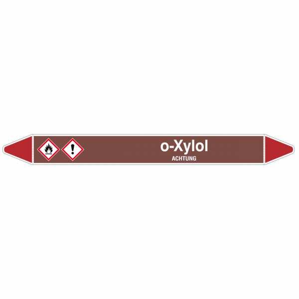 Brady Rohrmarkierer mit Text o-Xylol - ACHTUNG