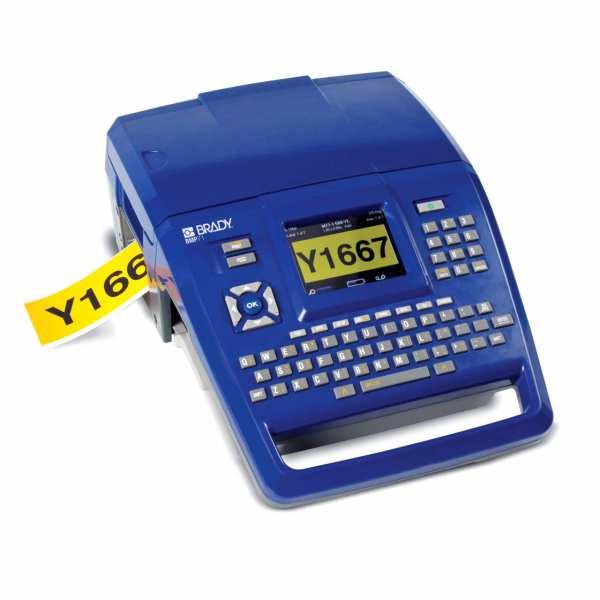 BMP71 mobiler Etikettendrucker mit QWERTZ Tastatur im EU Kit