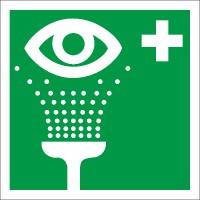 Rettungszeichen Augenspüleinrichtung  nach BGV A8 (E06)