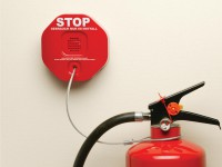 Feuerlöscher-Entnahme-Alarm