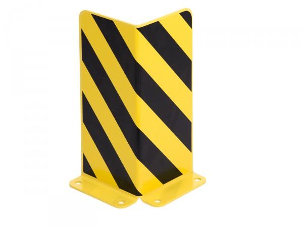 Regal-Anfahrschutz aus Stahl L-Profil