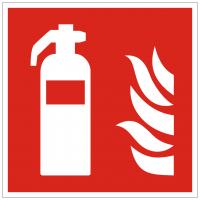Brandschutzzeichen Feuerleiter nach ISO 7010 (F003)
