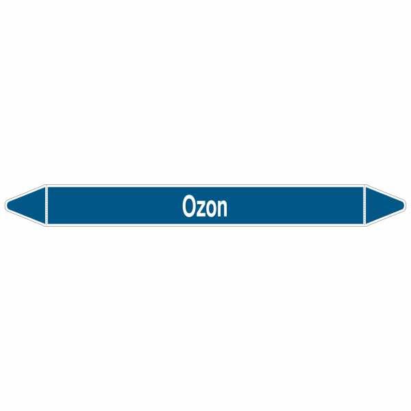Brady Rohrmarkierer mit Text Ozon