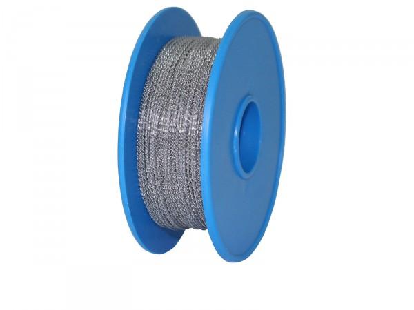 Plombendraht Perlon/Eisen 0,50x0,30mm (Spule à 100m)