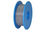 Plombendraht Perlon/Nirosta 0,50x0,30mm (Spule à 100m)