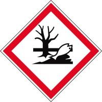 GHS-Gefahrstoffetiketten Umweltschädlich - GHS09