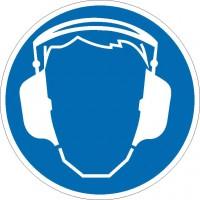 Gebotszeichen Gehörschutz benutzen nach BGV A8 (M03)