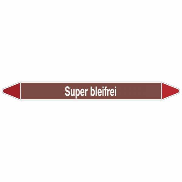 Brady Rohrmarkierer mit Text Super bleifrei