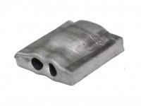 Aluminiumplomben Form 65 (100 Stk.), 12x12 mm