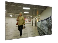 Flachspiegel IP AC mit Aluminiumrahmen TÜV geprüft