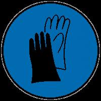 Gebotszeichen Handschutz benutzen nach BGV A8 (M06)