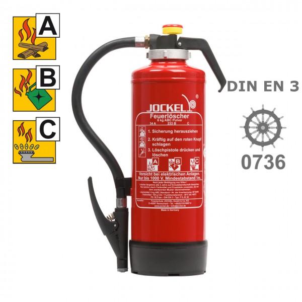 Jockel P 9 J 55 Pulverlöscher 9 kg