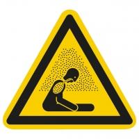 Warnzeichen Warnung vor Erstickungsgefahr nach ISO 7010 (W041)