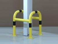 Pfostenschutz / Säulenschutz aus Stahl
