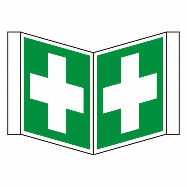 Nasenschild Erste Hilfe nach ISO 7010 (E003) / ASR A1.3