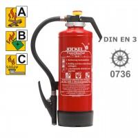 Jockel P 6 JK 34 Pulverlöscher 6 kg