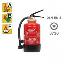Jockel F 3 LJM 8 Fettbrandlöscher 3 Liter