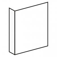 Fahnenschild neutral für Wand- oder Deckenmontage