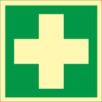 Rettungszeichen Erste Hilfe nach ISO 7010 (E003) / ASR A1.3