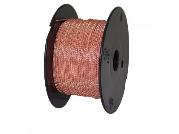 Plombendraht Perlon/Kupfer 0,50x0,30mm (Spule à 100m)