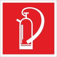 Brandschutzzeichen Feuerlöscher nach BGV A8 (F05)