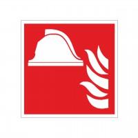 Brandschutzzeichen Mittel und Geräte zur Brandbekämpfung nach ISO 7010 (F004)