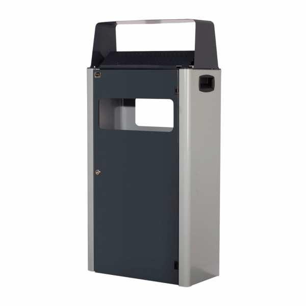 Abfall-Ascher-Kombination TKG Cendrier