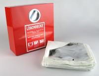 Löschdecke SQS 1800x1600 mit Löschdeckenbehälter